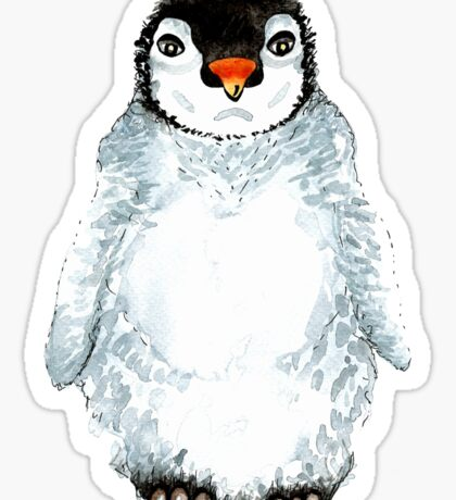 Molly the baby penguin  Sticker