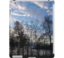 Sky Glory Through The Screen Of Trees iPad Case/Skin