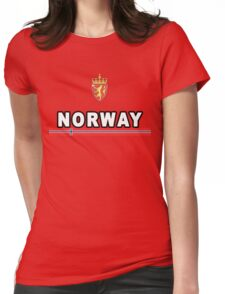 Norway National Sport Game Womens Fitted T-Shirt