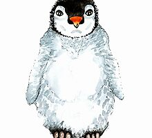 Molly the baby penguin  by bridgetdav