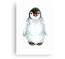 Molly the baby penguin  Metal Print