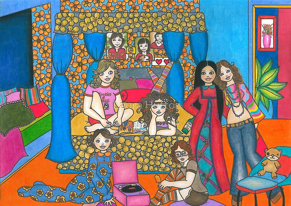 Sleepover at Marcie's... by Laura Hutton