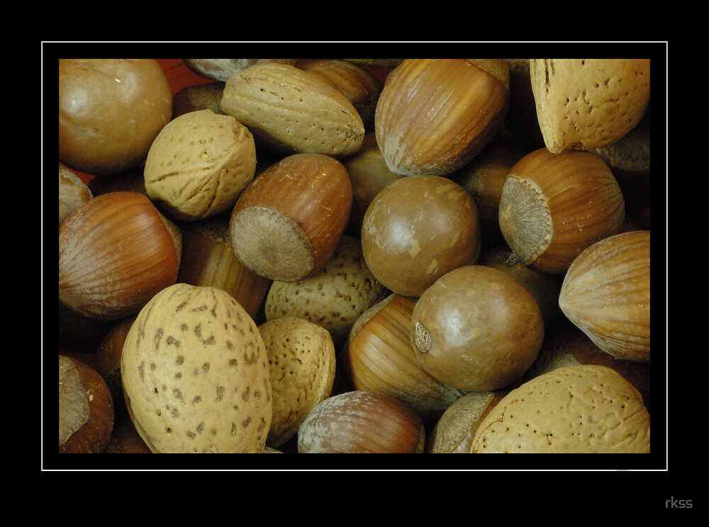 mixed nuts by rkss