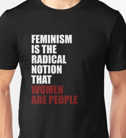 Women Are People Unisex T-Shirt