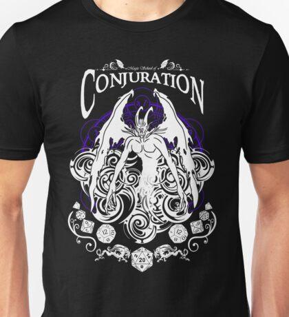 Conjuration - D&D Magic School Series : White Unisex T-Shirt