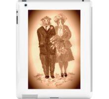 The Guinea Pig Wedding (Sepia) iPad Case/Skin