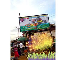 Extra-terrestrials around Lagos 4 Photographic Print