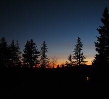 Maine sunset by Jennifer Blank