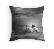I'll Build My Castle No Matter What Happens Throw Pillow