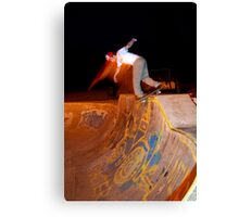 backside disaster Canvas Print