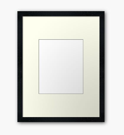 TEXTING AWAY (white type) 2 Framed Print