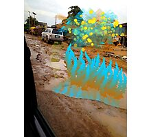Extra-terrestrials around Lagos 5 Photographic Print