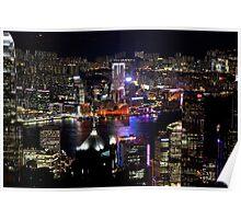 Night on the City V - Hong Kong. Poster