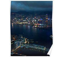 Night on the City VI - Hong Kong. Poster