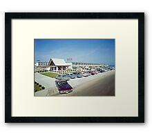 VIP Motel in Wildwood New Jersey from the 1960's Framed Print