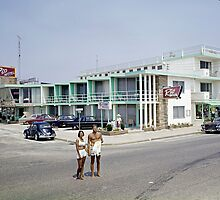 Rio Motel in Wildwood New Jersey from the early 1960's by aladdincolor