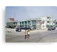 Rio Motel in Wildwood New Jersey from the early 1960's Metal Print