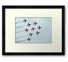 The Red Arrows-3 Framed Print