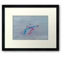 The Red Arrows-5 Framed Print