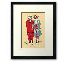 The Guinea Pig Wedding (Art Style) Framed Print