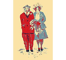 The Guinea Pig Wedding (Art Style) Photographic Print