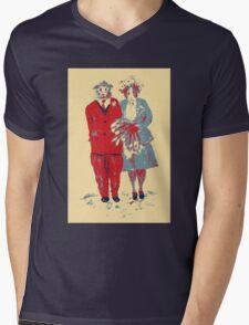 The Guinea Pig Wedding (Art Style) Mens V-Neck T-Shirt