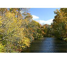 Little River In Townsend Tennessee Photographic Print