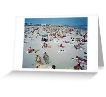 1960's Retro Wildwood New Jersey Beach and Boardwalk Greeting Card