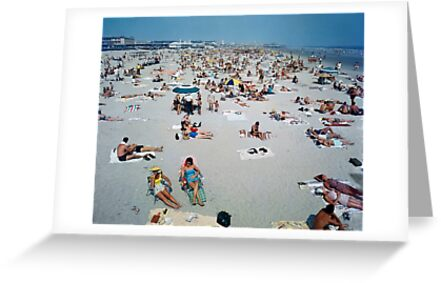1960's Retro Wildwood New Jersey Beach and Boardwalk by aladdincolor