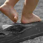 Tiny walking feet... Free State, South Africa by Qnita