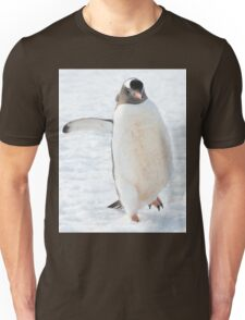 A gentoo penguin out for a stroll..... Unisex T-Shirt