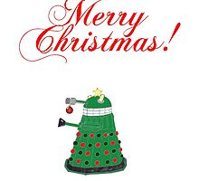Dalek Christmas Card! by nicolorful
