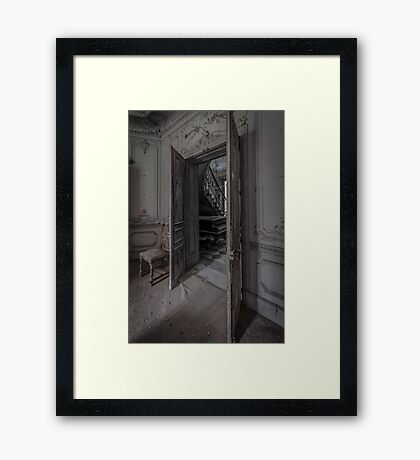 Chateau Verdure - Derelict French Chateau Framed Print