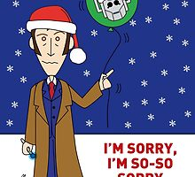A Tenth Doctor Who themed Xmas Card 2 by mjfouldes
