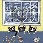 Hanukkah Kitties by Ryan Conners