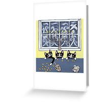 Hanukkah Kitties Greeting Card