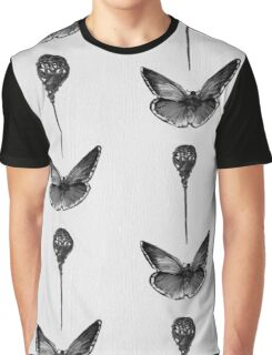Pinned Butterfly Graphic T-Shirt