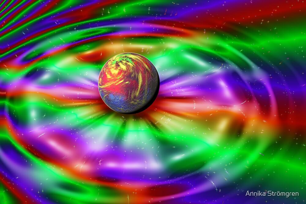 Rainbow universe by Annika Strömgren