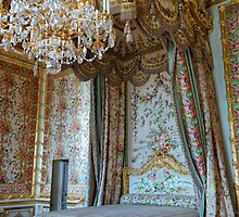 Marie Antoinette's Bed by Ludwig Wagner
