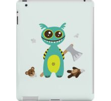 Cute Monster with Headless Teddy iPad Case/Skin