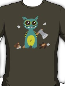 Cute Monster with Headless Teddy T-Shirt