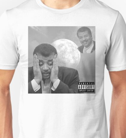Neil deGrasse Tyson - Transcending this world (Black & White LIMITED EDITION) Unisex T-Shirt
