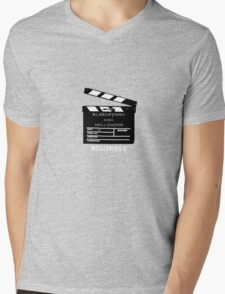 BLARNEY MAN DOES HOLLYWOOD Mens V-Neck T-Shirt