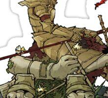 Dragonslayer Ornstein  - Resting Sticker