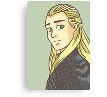 Legolas Greenleaf: Lord of the Rings Canvas Print