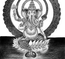Ganesha - Lord of Success by sjoseph