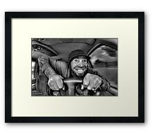 Joy Ride Framed Print