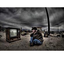 Watching Me Photographic Print