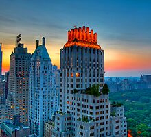 Looking Northwest from 6th Street Manhattan, NYC. by delobbo