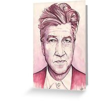 David Lynch - Dune - Twin Peaks - The Elephant Man - Blue Velvet Greeting Card